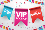 Be in to win tickets to The Edge VIP Rooftop!