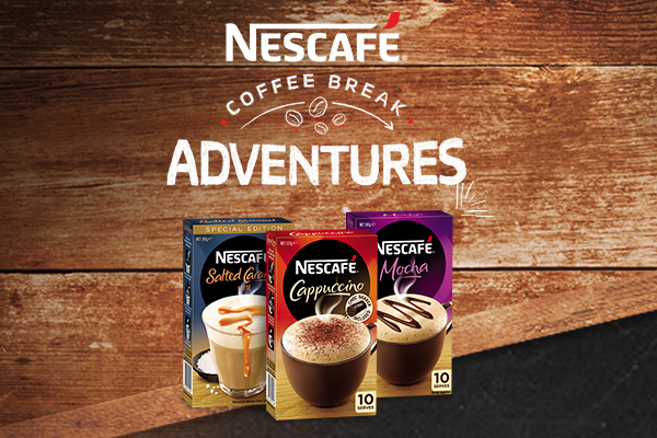 Win a NESCAFÉ Coffee break adventure!