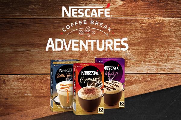 Win a NESCAFÉ Coffee break adventure!