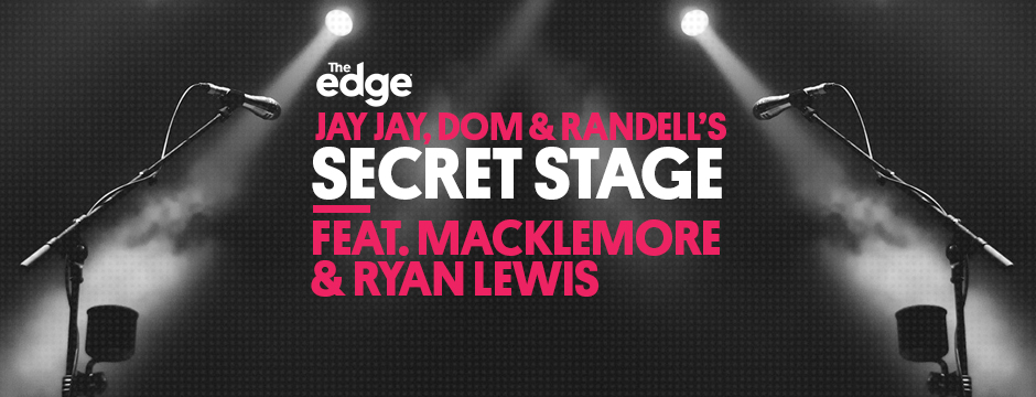 JDR's Secret Stage with Macklemore and Ryan Lewis