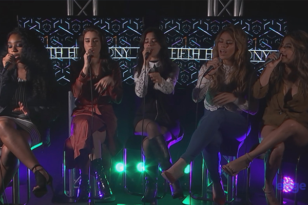 Fifth Harmony perform 'Work From Home' live at The Edge studios!