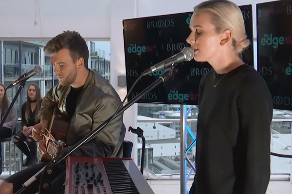 WATCH: Broods perform acoustic version of 'Heartlines'