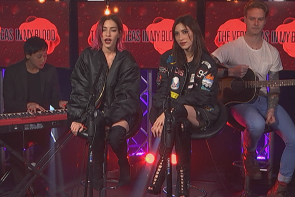 WATCH: The Veronica's acoustic version of 'In My Blood'