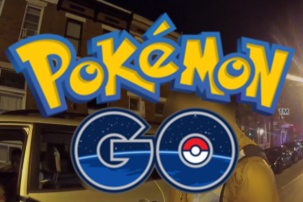 WATCH: Driver crashes into police car while playing Pokemon Go!