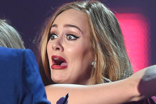 Adele just accidentally KISSED a fan on the lips!