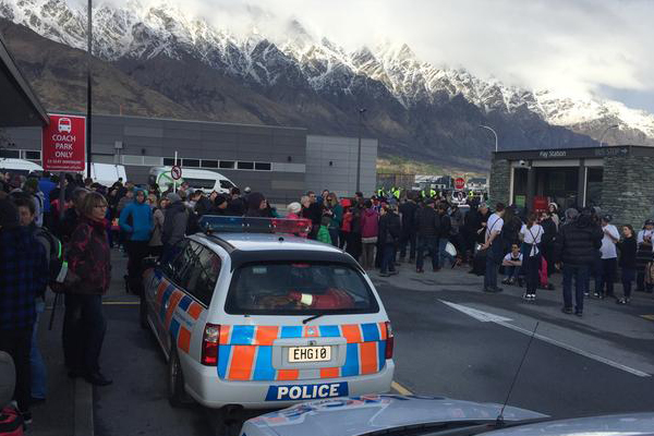 BREAKING: Bomb threat at Queenstown Airport!
