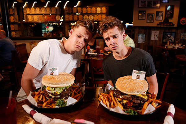 Joe and Caspar live in NZ