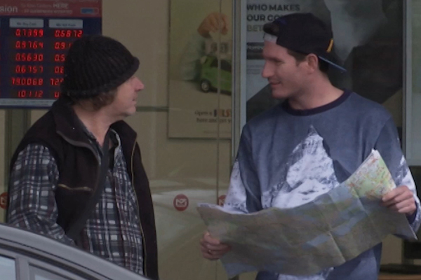WATCH: Marty and Steph ask complete STRANGERS for 'life directions'