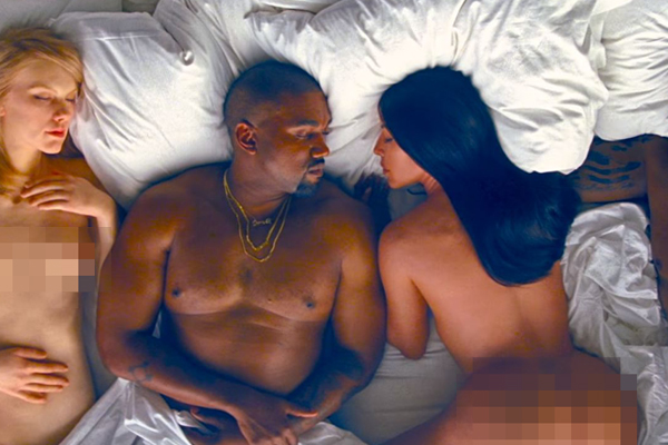 Kanye West's 'Famous' just got nominated for 'Video of the Year' at the MTV VMA's!