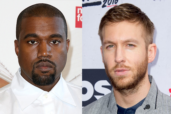 REVEALED: Are Kanye West and Calvin Harris recording MUSIC together?