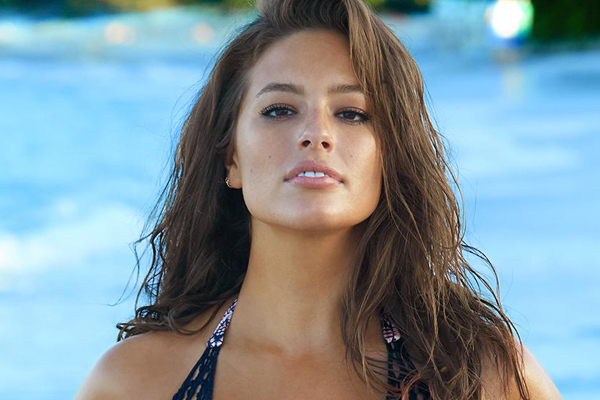 Plus size model Ashley Graham strips down for GORGEOUS new shoot