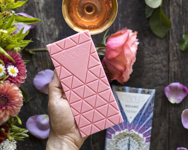 Rosé wine chocolate officially exists and it's EVERYTHING we need!