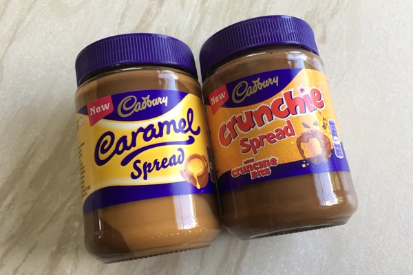 Caramello and Crunchie spreads are COMING!