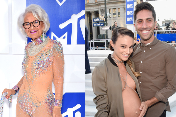 The WEIRDEST red carpet looks from this year's MTV VMA's!