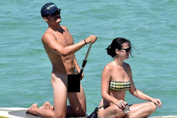 NSFW: Orlando Bloom gets completely NAKED with Katy Perry!