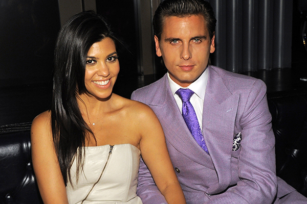 Kourtney just hinted that her and Scott Disick are getting back TOGETHER!