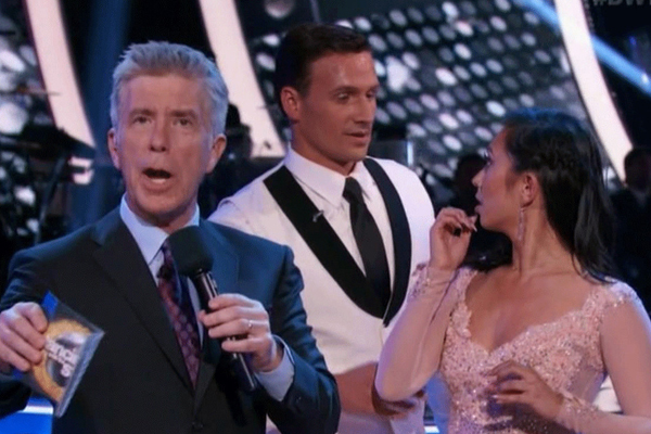 GSC talk to Dom Bowden after Ryan Lochte DWTS attack!