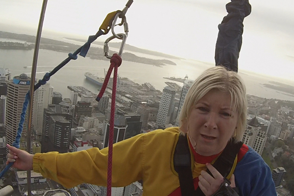 WATCH: The moment Jay-Jay jumps off the Sky Tower!