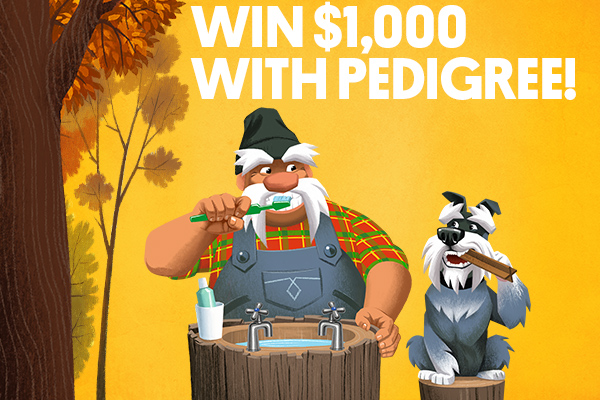 Win $1,000 with Pedigree Pooch Pics!