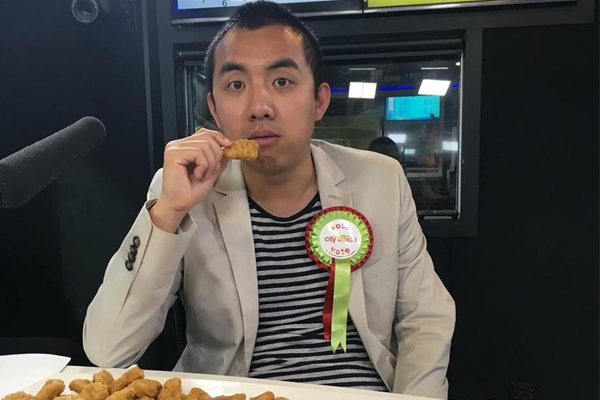 WATCH: Chang attempts to eat 100 McDonalds nuggets!