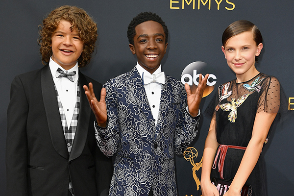 The cast just revealed a MAJOR SPOILER for S2 of 'Stranger Things'