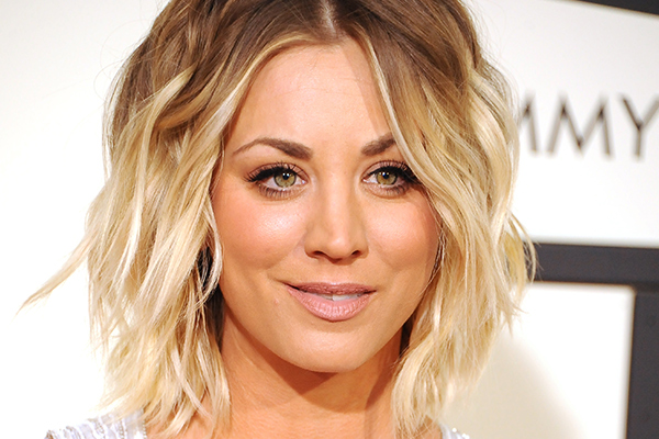 Kaley Cuoco just posted a TOPLESS pic on Snapchat!