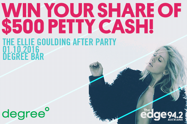 The Edge presents the Ellie Goulding After Party at Degree Bar