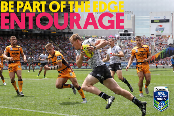 Be a part of The Edge Entourage