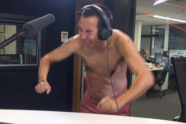 WATCH: Dom makes Chang get his nipples zapped for free air time