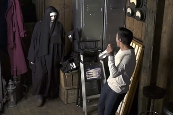 This Conjuring 2 prank hilariously backfired when a total legend fought back!