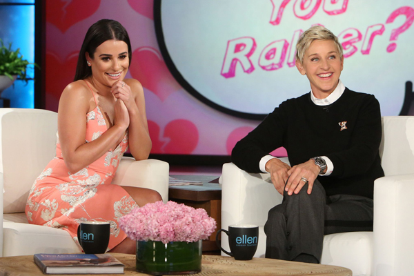 WATCH: Lea Michele reveals which of Taylor Swift's famous exes she'd date