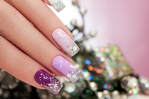 We've been applying glitter nail polish wrong the whole time!